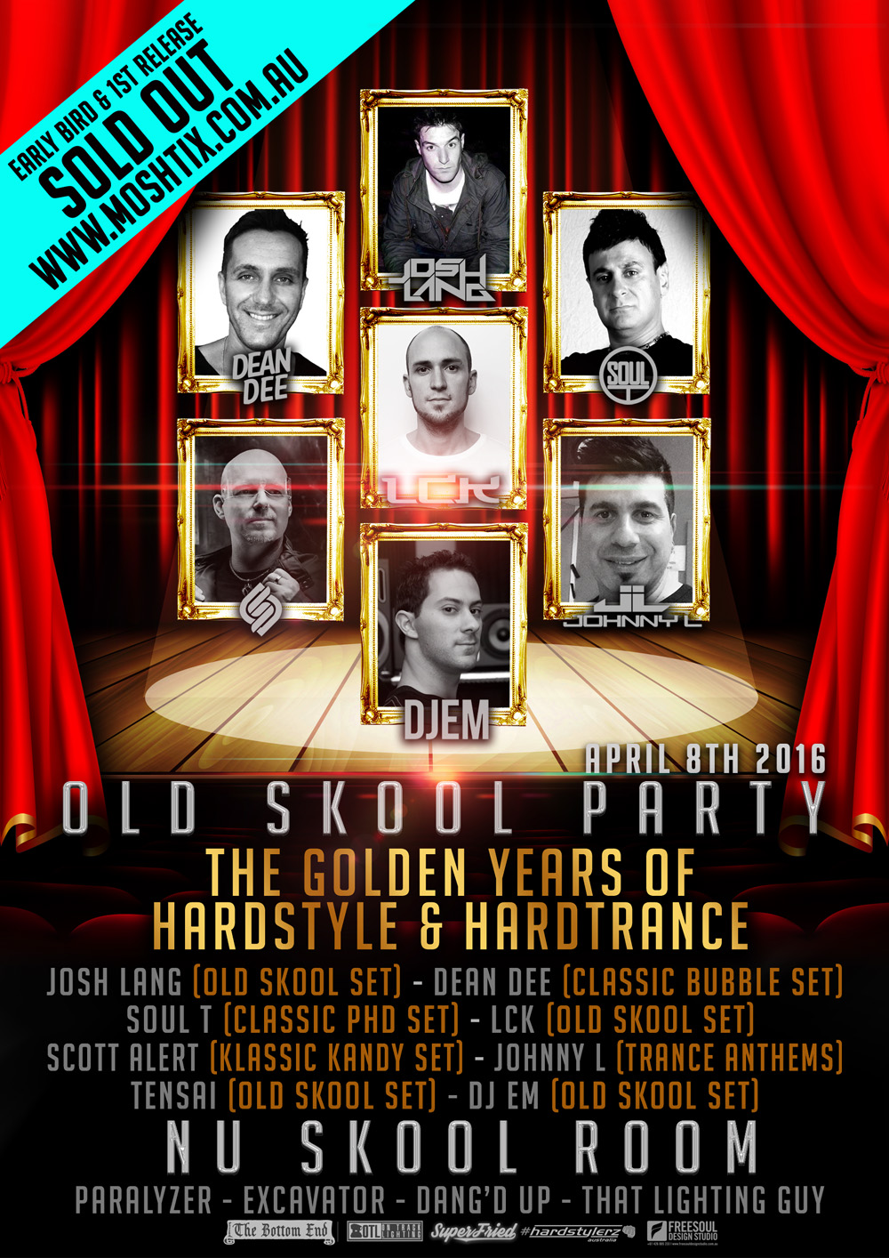 OLD SKOOL PARTY_POSTER_TEASER_1ST_RELEASE_SOLD_OUT