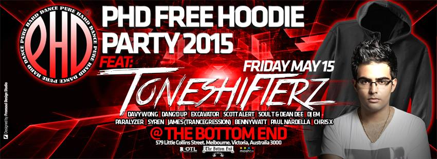hoodie party full details banner